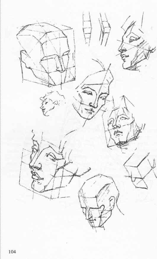 Cube Construction Anatomical Drawings Joshua Nava Arts