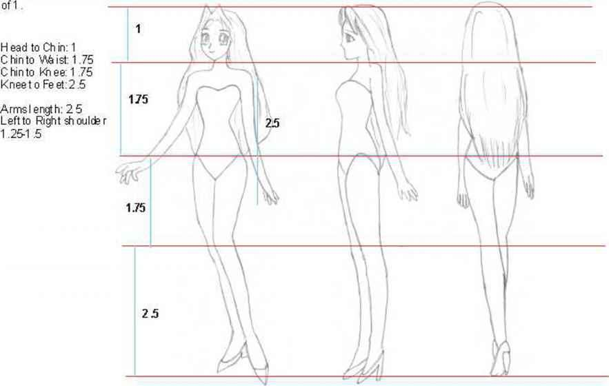 How Draw Anime Bodies With Clothes