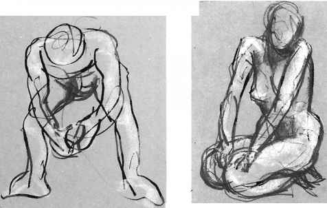 Sustained Gesture Drawing Poses