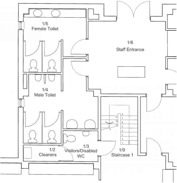 floor plans - assembly drawings