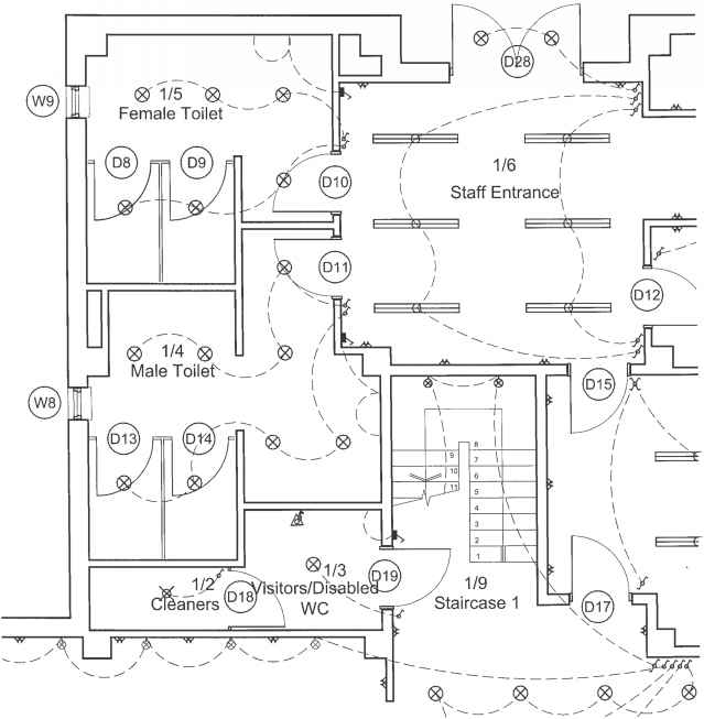 Physical Therapy Layout Plan Drawings