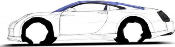 Car Sketch Side View