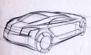 Car Two Point Perspective
