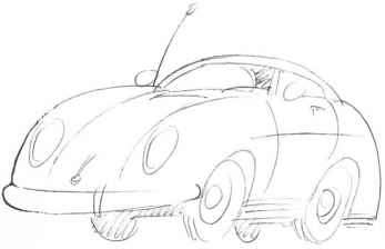 Рисунок семейного автомобиля