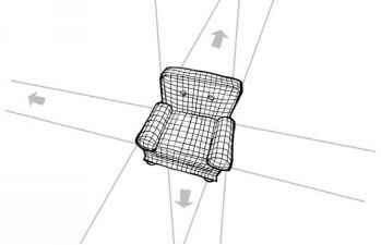 How Draw Chair Perspective
