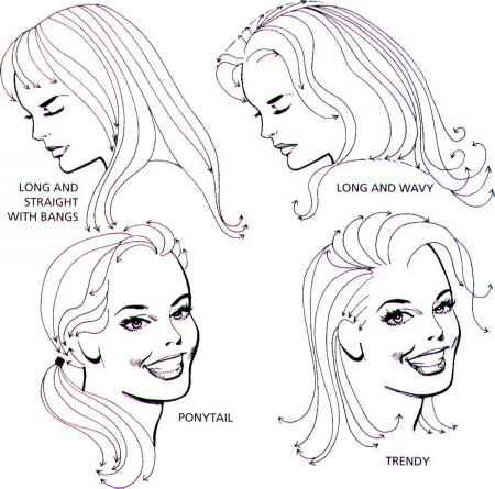 Awe Inspiring How To Draw Hair Draw Cartoons Joshua Nava Arts Short Hairstyles For Black Women Fulllsitofus