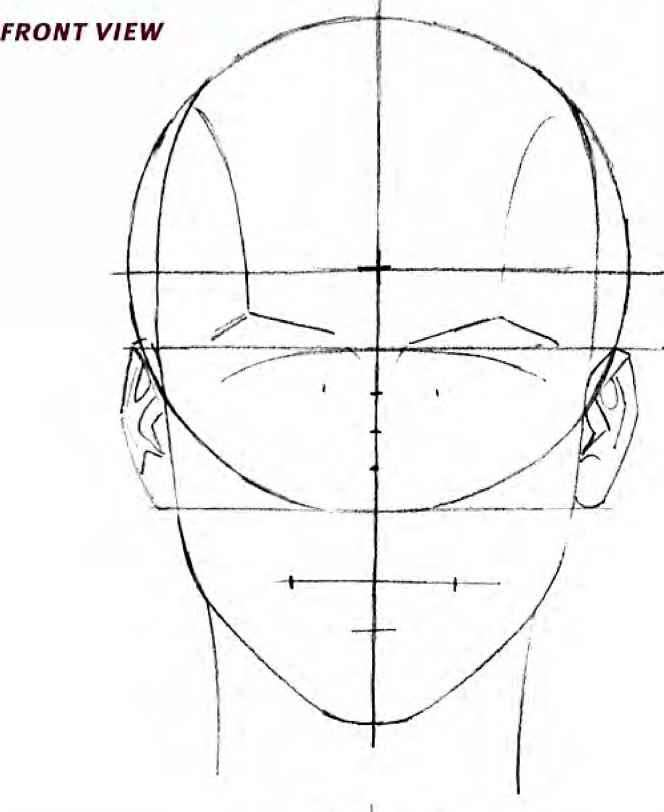 Contour Line Drawing Face : The modern female head drawing comics joshua nava arts