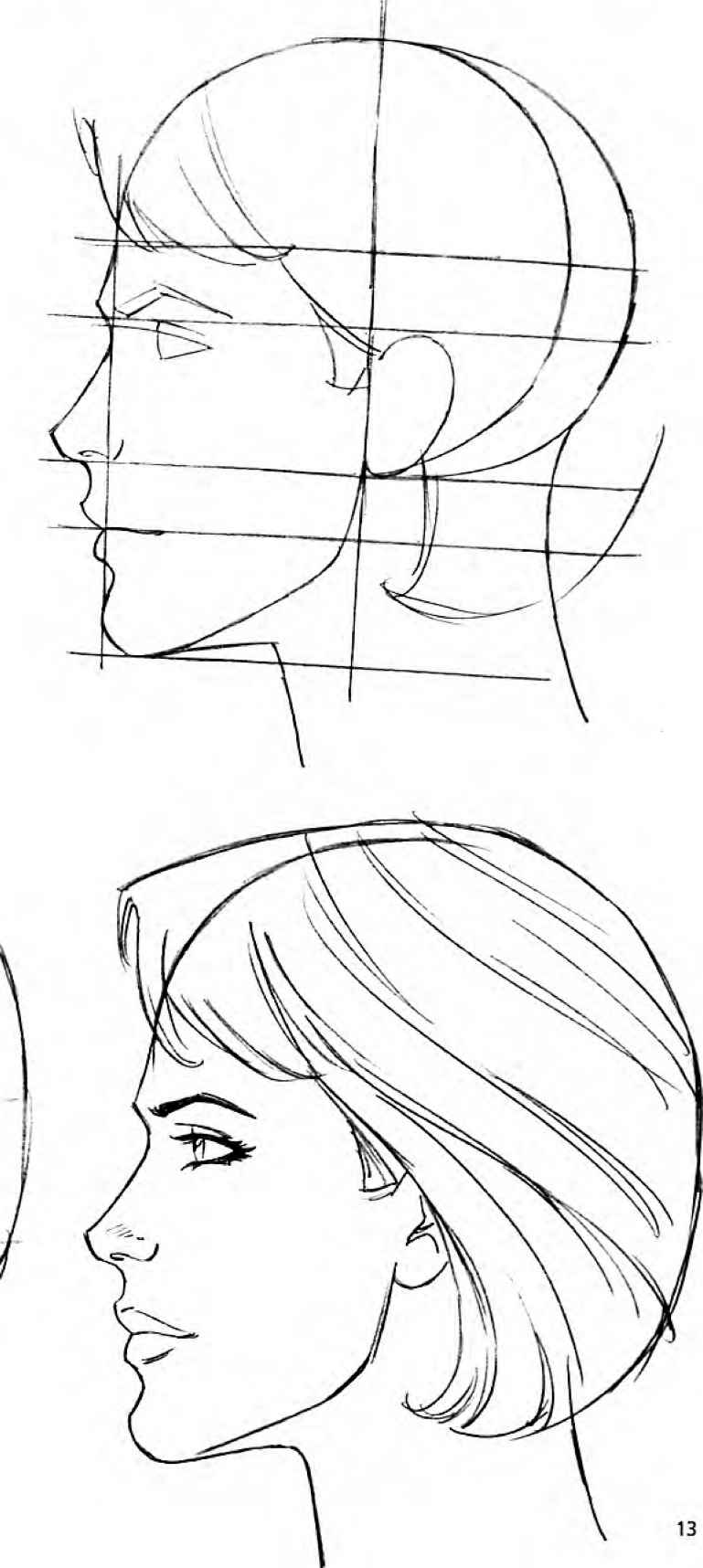 The Modern Female Head - Drawing Comics - Joshua Nava Arts