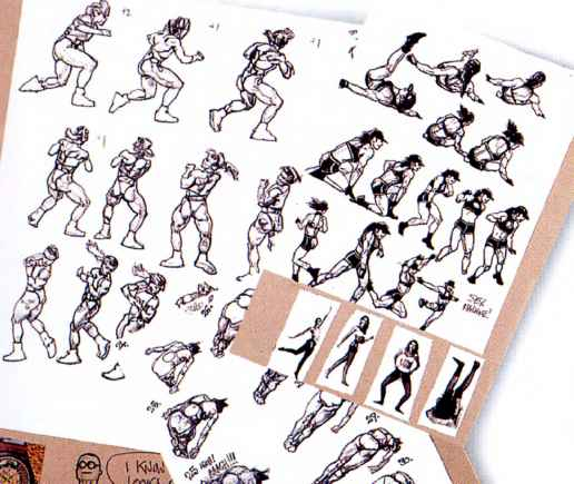 Drawing Figures Action