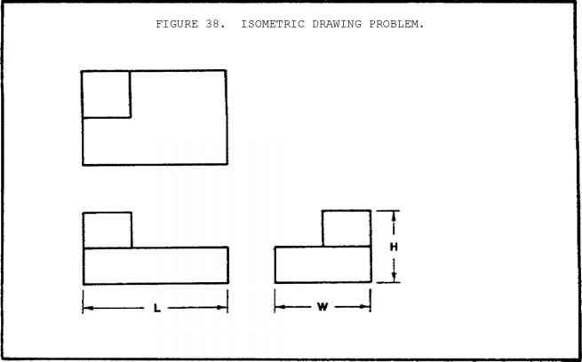 Figure The Basic Reference System For Isometric Drawings ...