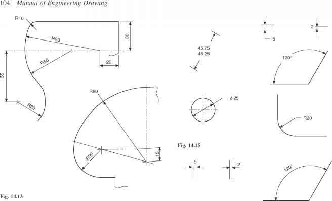 dimensioning in engineering drawing