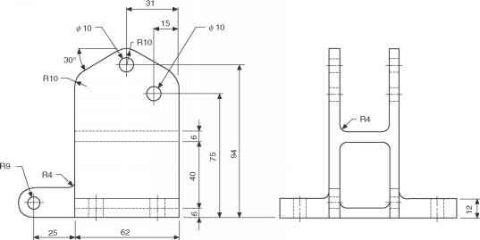 Hand Drill Technical Drawings