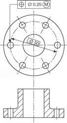 Dimensioning Equispaced Holes