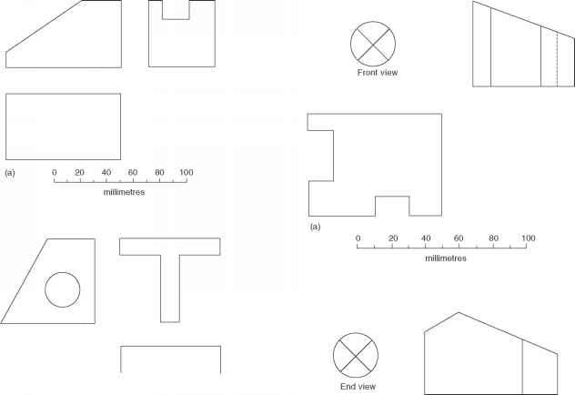 Orthographic Drawings 1st Angle