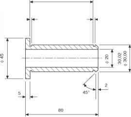 Technical Drawing Bolt