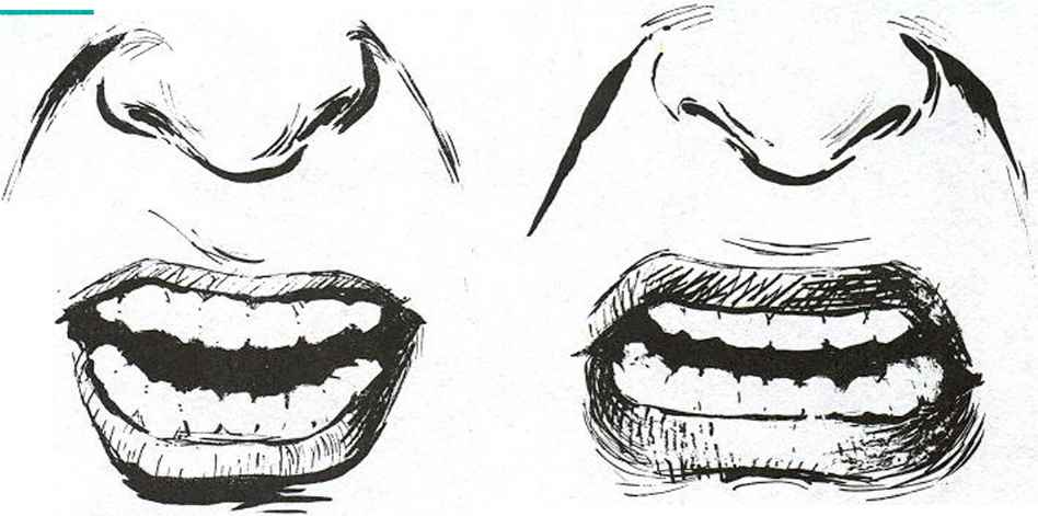 Line Drawing Angry Face : Anger the face of rage facial expressions joshua nava arts