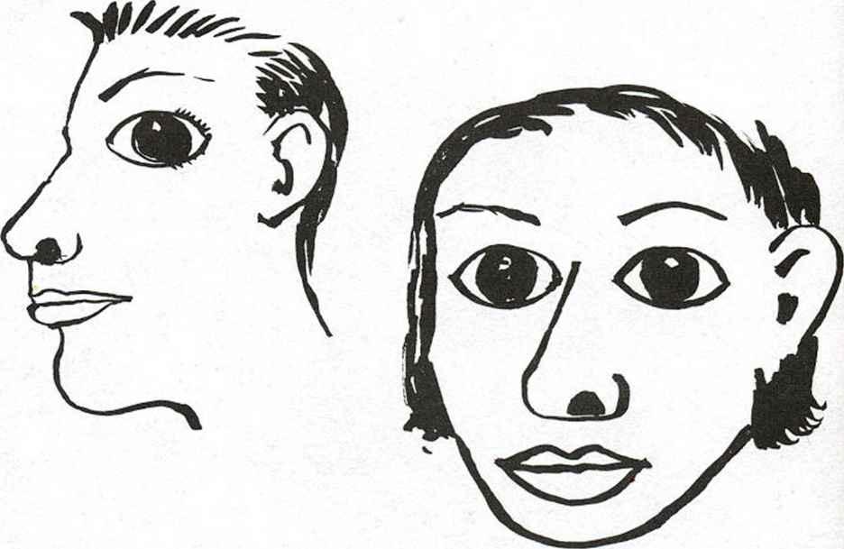 Constructing The Features Facial Expressions Joshua Nava Arts