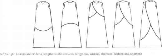 Fashion Technical Drawing Template