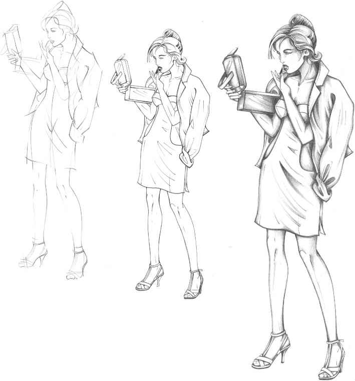 Fashion Body Sketches