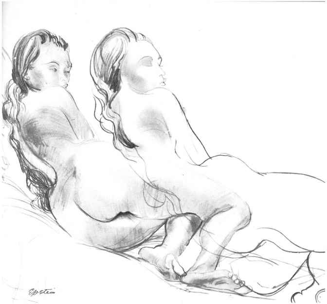 Sir Jacob Epstein Drawings