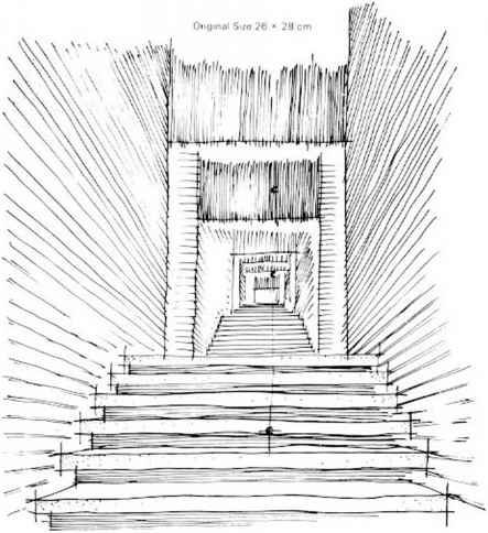 Drawing Freehand Stairs Perspective