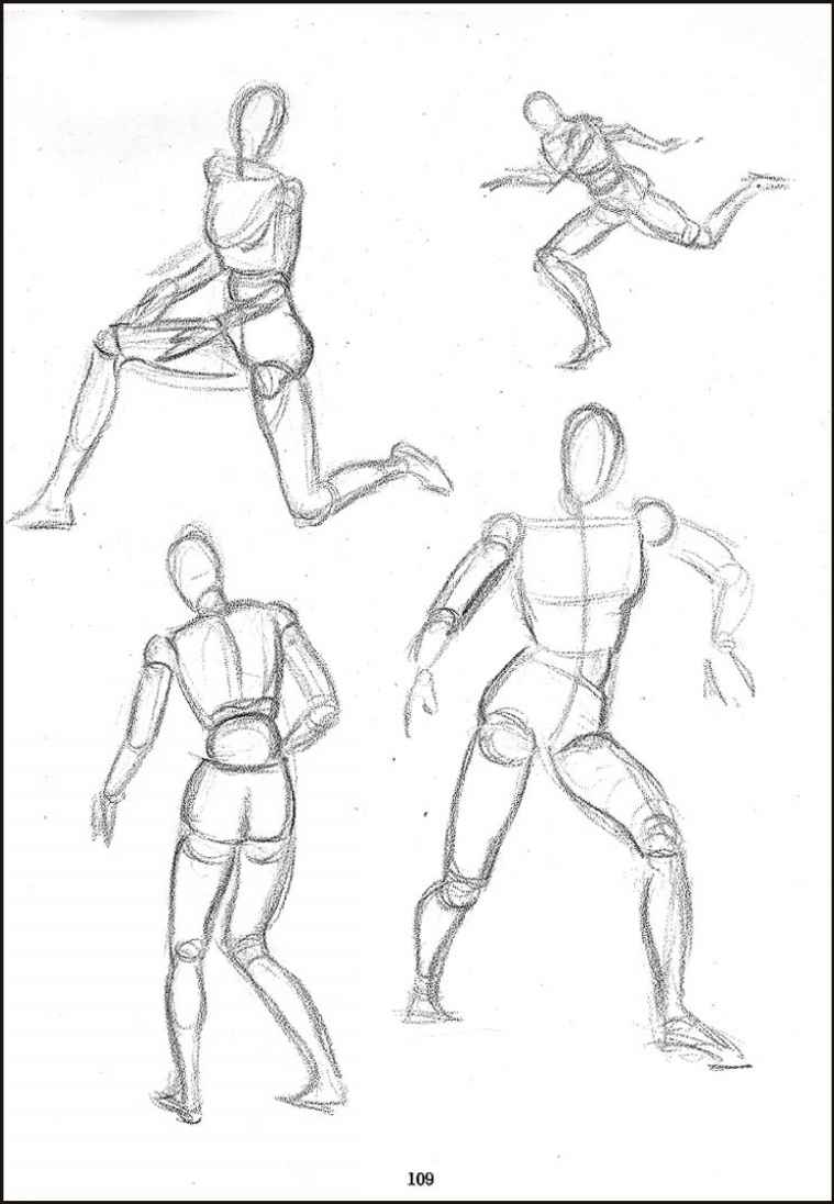 Figure Drawing Lessons 5/8 - Drawing The Manikin (Mannequin ...