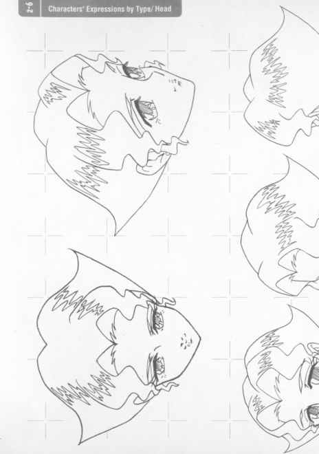 Manga Boy Head Positions Japanese Anime Girl With Droopy Hair