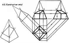Frustum Solid Engineering Drawing