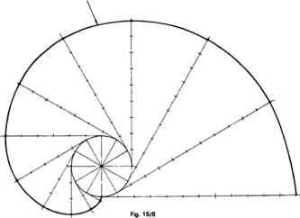 how to draw a involute