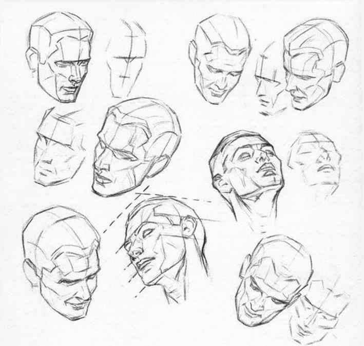 Head Drawing Techniques
