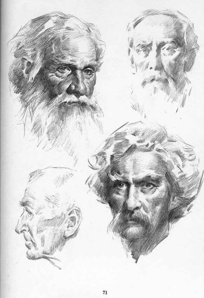 Plate Characterization Drawing The Head And Hands Joshua Nava Arts