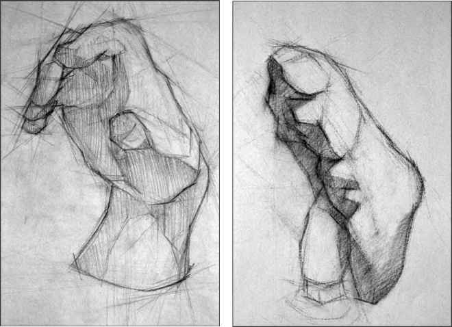 How Draw Sculpture