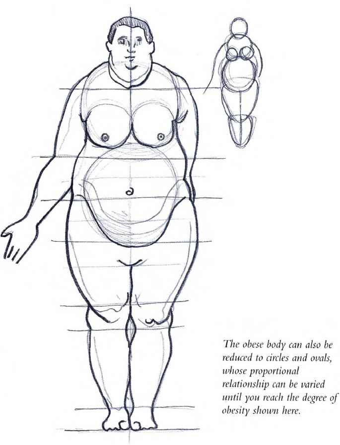 Overweight Figure Drawing Models