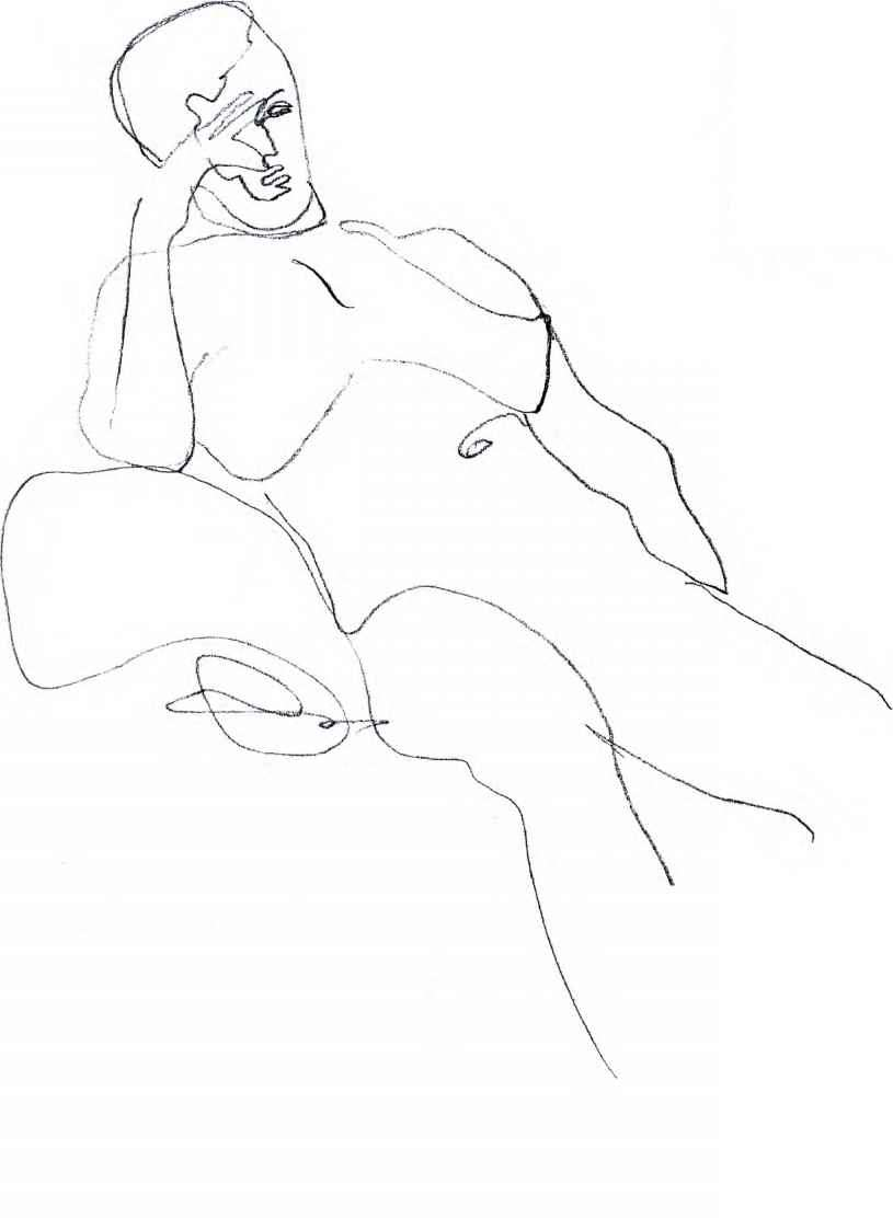 Contour Drawing Body