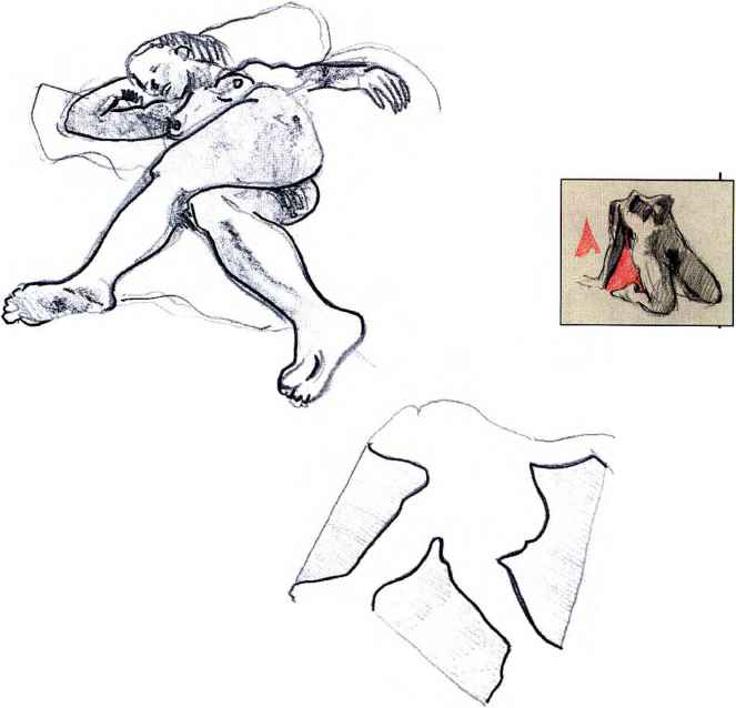 Figure Drawing Foreshortening