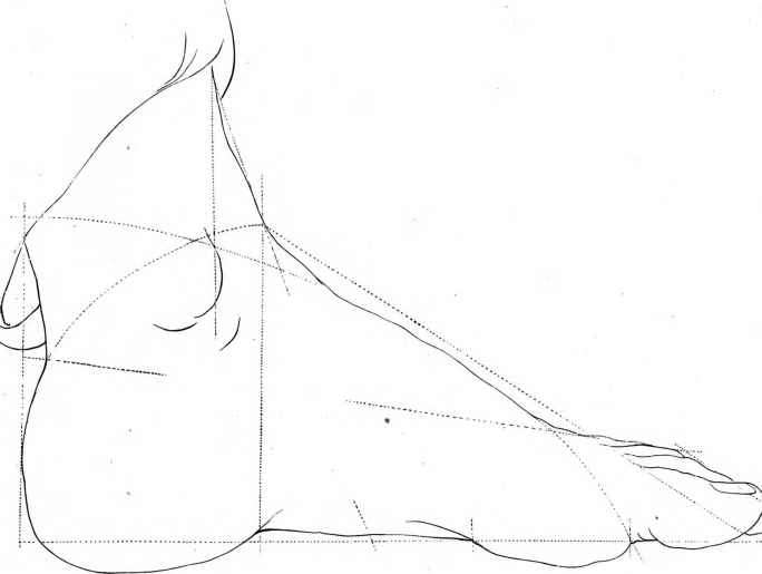 Fashion Designing Basic Feet Drawing