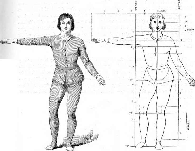 Gerard Lairesse Figure Proportions
