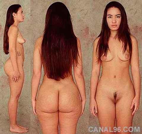 nude mature model draw