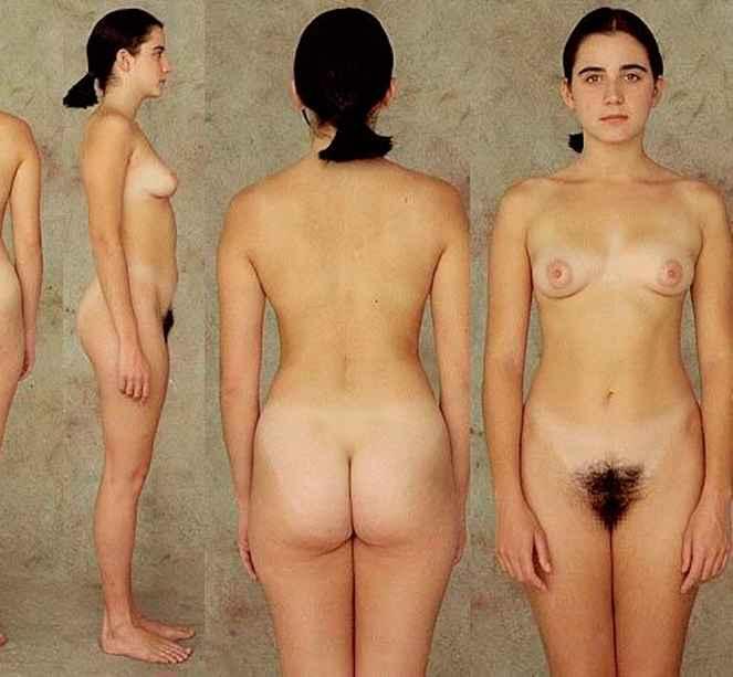 Girls doing nude crabwalk
