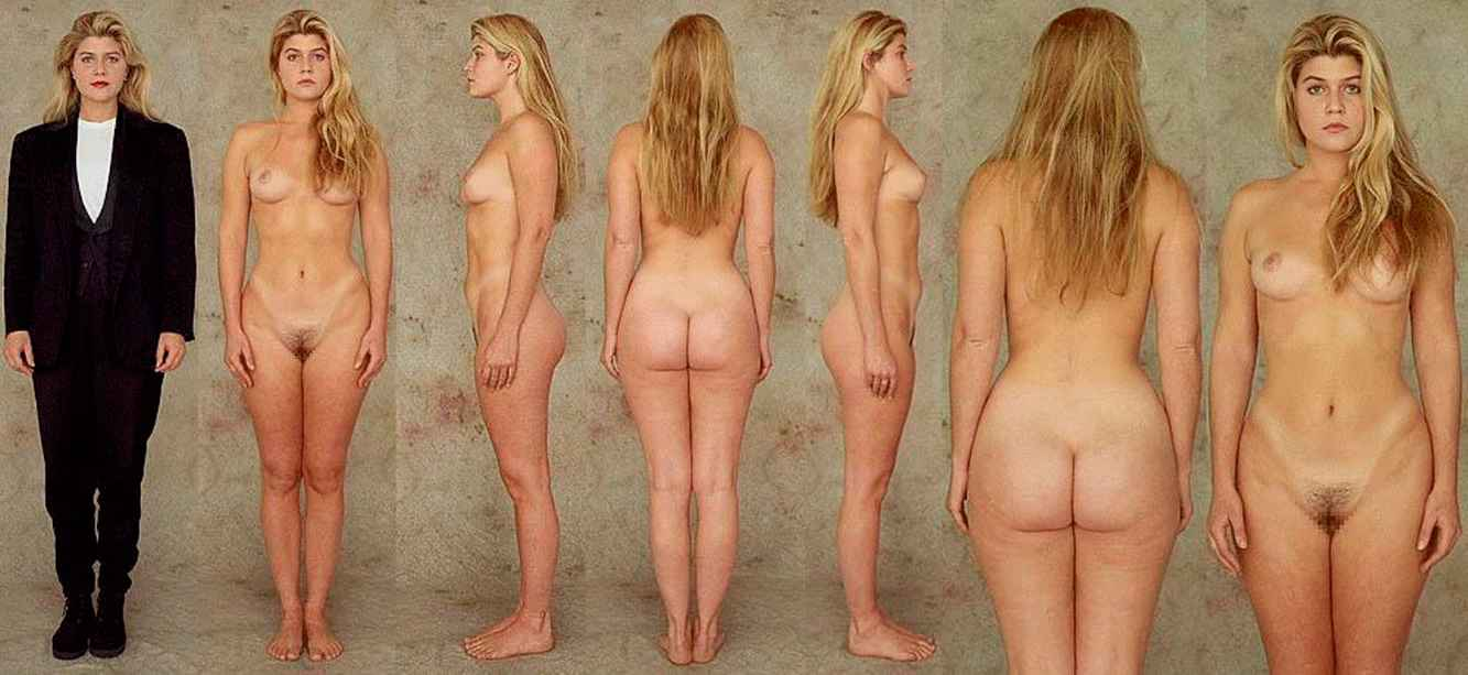 Nude from all sides