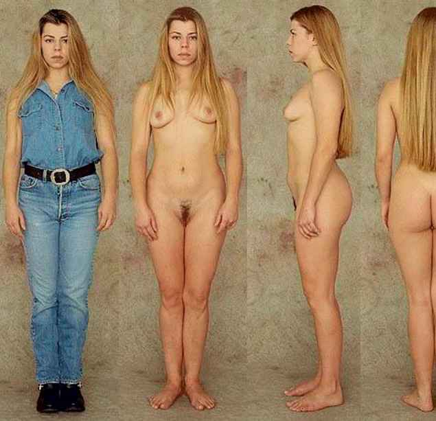 female body proportions nude