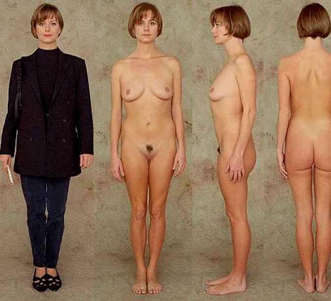 average womans naked body