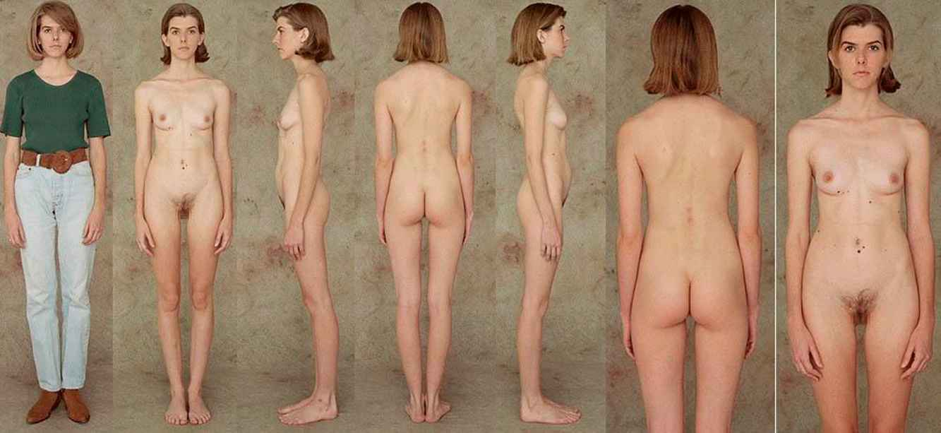 Whole body naked picture of a girl