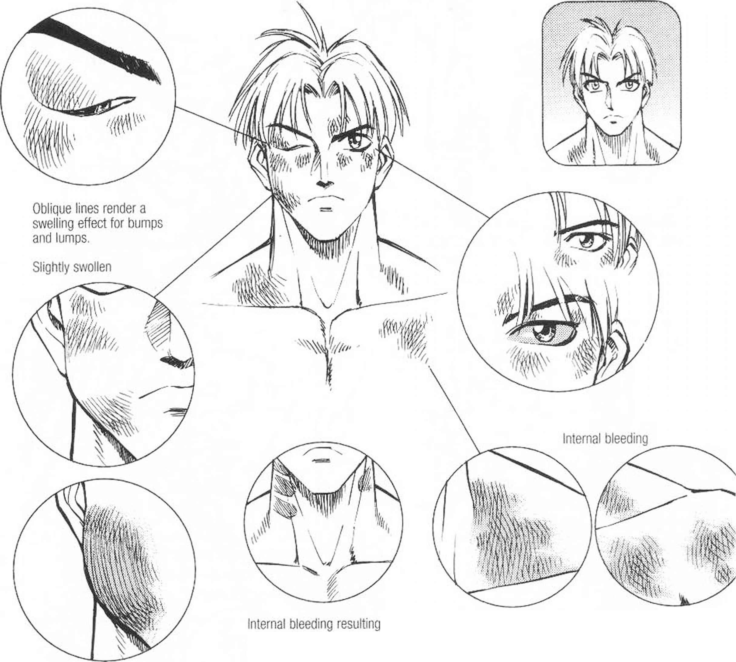 How draw manga faces