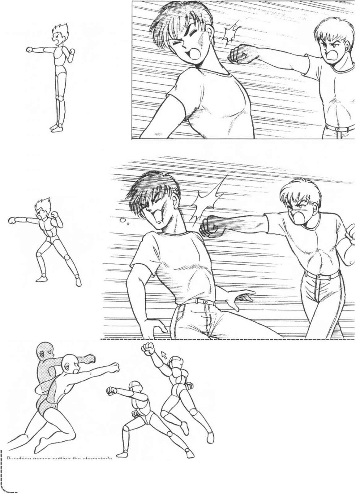 Bodie manga how draw the human body