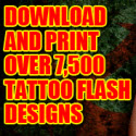 Tattoo Designs? Promote The Only Tattoo Site W/ Recurring Commissions!