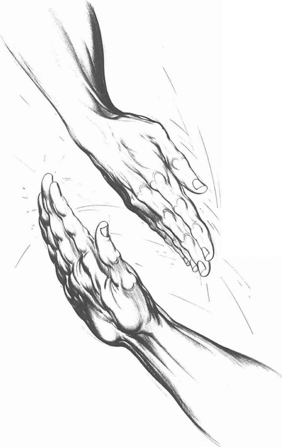 Hand Drawing Arms