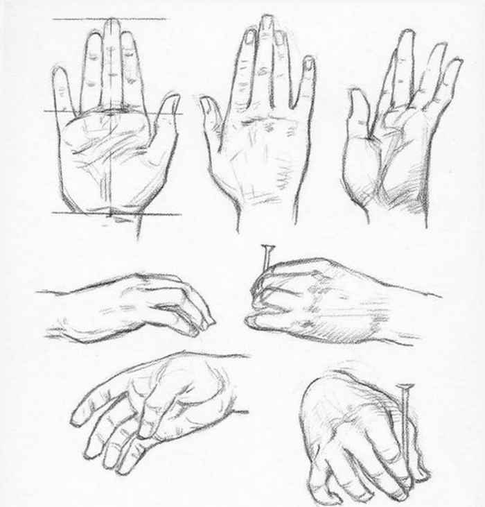 Baby Hands Drawing