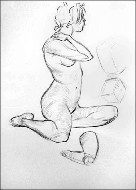 Expressive Life Drawing Images