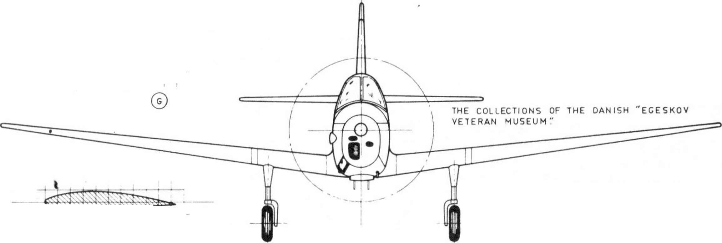 Airplanes Technical Drawing